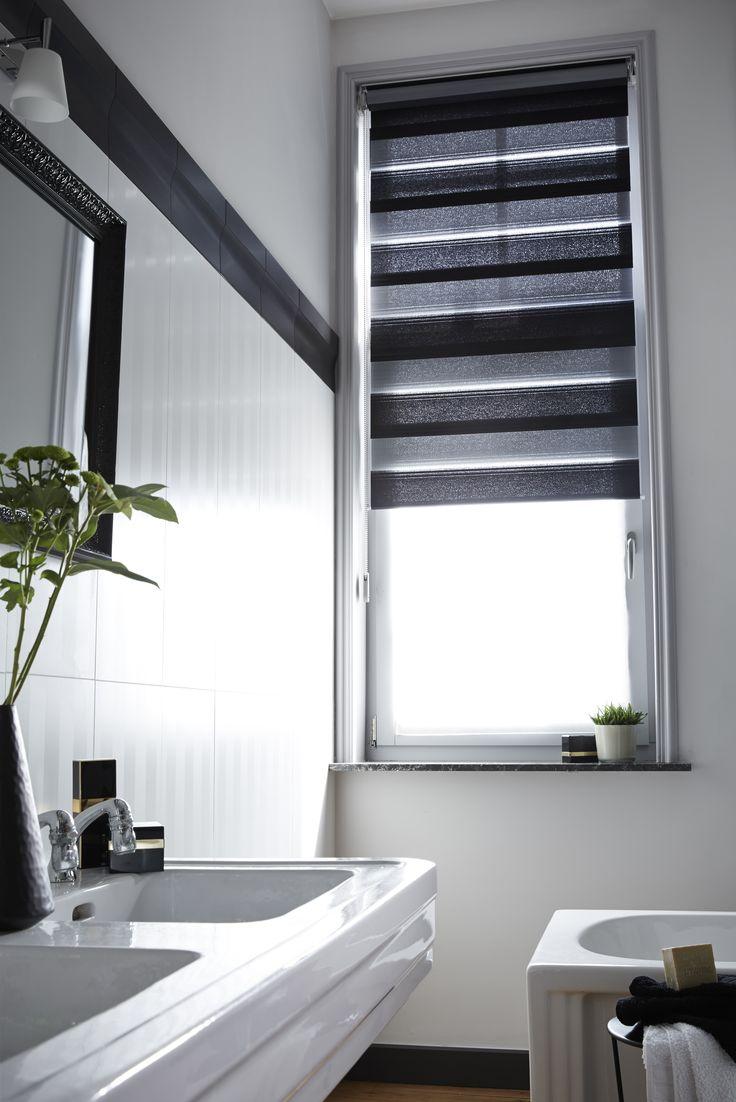 Best 25 habillage fenetre ideas on pinterest rideaux onglet de rideaux and rideaux pattes - Store fenetre salle de bain ...