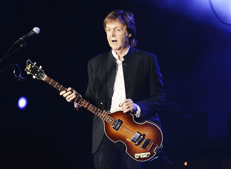 INDIO, CA - OCTOBER 08:  Paul McCartney performs during Desert Trip at The Empire Polo Club on October 8, 2016 in Indio, California.  (Photo by Dave J Hogan/Dave J Hogan/Getty Images) via @AOL_Lifestyle Read more: https://www.aol.com/article/entertainment/2017/07/30/paul-mccartney-hints-his-new-album-will-have-a-song-about-donald/23056723/?a_dgi=aolshare_pinterest#fullscreen