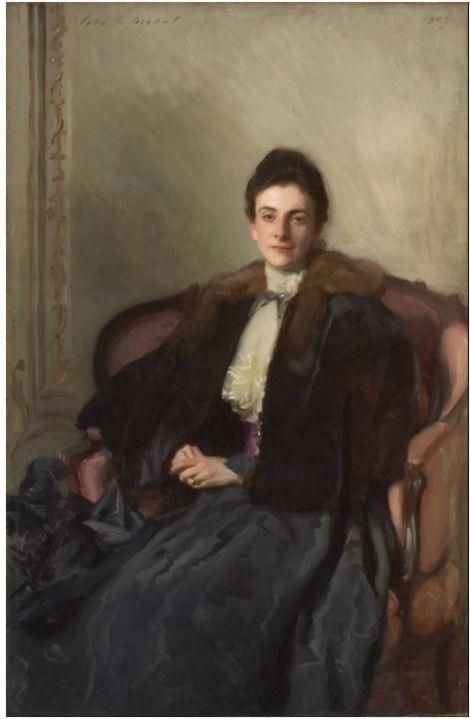 John Singer Sargent, Portrait of Mrs. Harold Wilson on ArtStack #john-singer-sargent #art