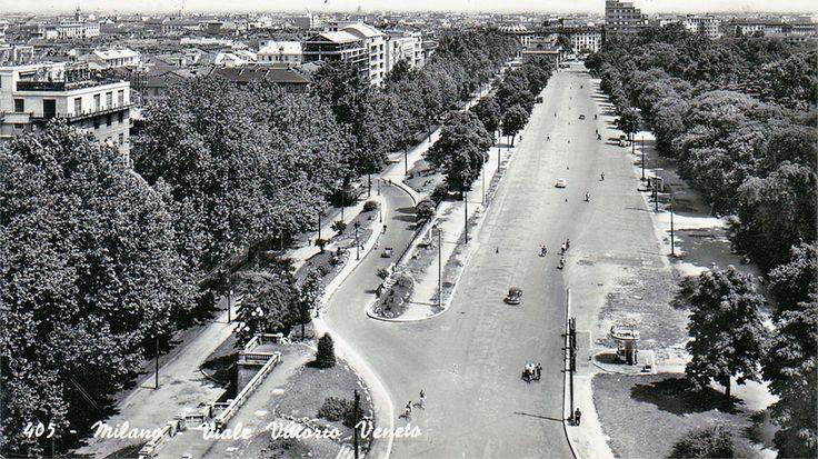 E tre tram. E gente che passeggiava. Anche chi non è di Milano sa che corso Buenos Aires è una via, certo, ma anche un simbolo. Queste vecchie, bellissime immagini della Milano sparita fanno riflettere.