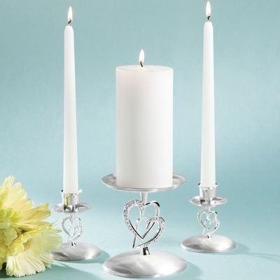 Twin Hearts Candleholder | Two Hearts Unity Candleholder SetWedding Unity Candles, Twin Heart, Candle Holders, Candles Holders, Candleholder Sets, Heart Unity, Heart Wedding, Candles Stands, Film Music Book