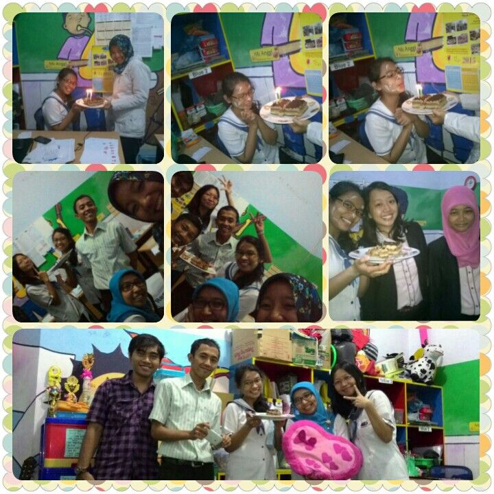 Surprise birthday party...really surprise and unforgetable moment... i love u all my besties..