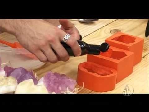Sabonete pedras preciosas - Tudo Artesanal - 21 de Julho de 2012 - YouTube