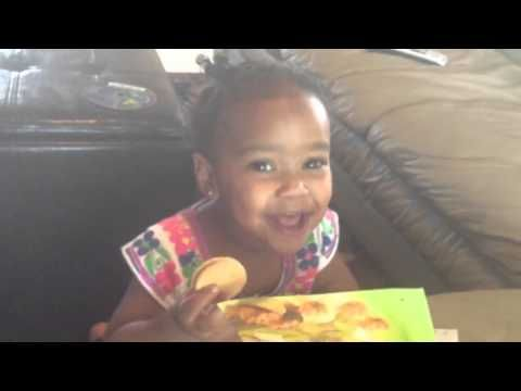 Leila (1 yr old) sings Listen Obey and Be Blessed - YouTube  Oh. My. Goodness!!!---Misty ❤