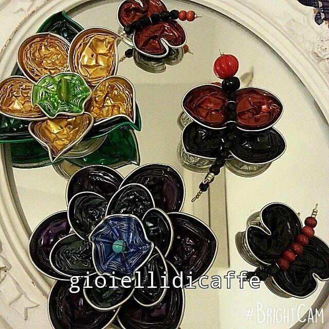Farfalle e fiori Nespresso Gioiellificaffe