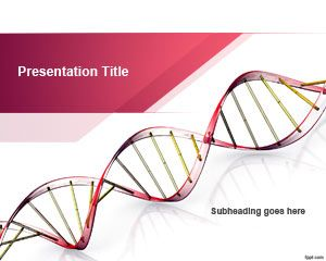 Free Genetic Science PowerPoint Template   Free #medical #Powerpoint #templates