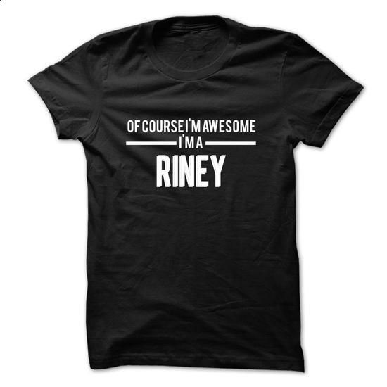 RINEY-the-awesome - #best friend shirt #sorority shirt. I WANT THIS => https://www.sunfrog.com/LifeStyle/RINEY-the-awesome-78936242-Guys.html?68278