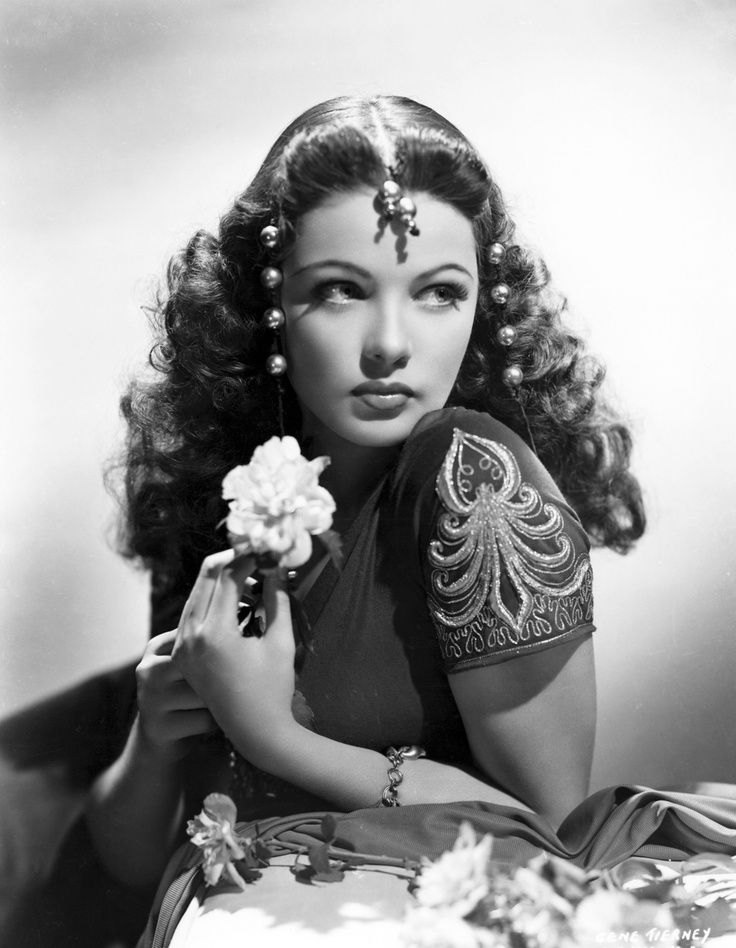 Gene Tierney Classic Hollywood Up To 1949 Pinterest