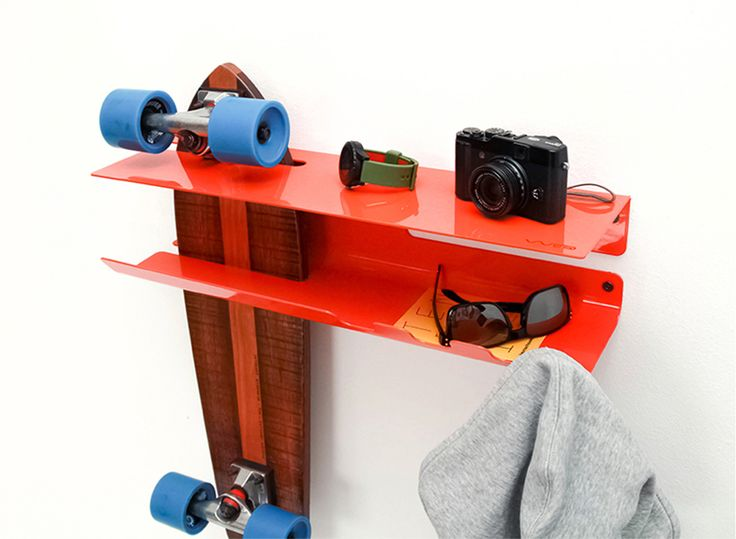 1000 id es sur le th me skateboard rack sur pinterest porte planche de surf salle pour. Black Bedroom Furniture Sets. Home Design Ideas