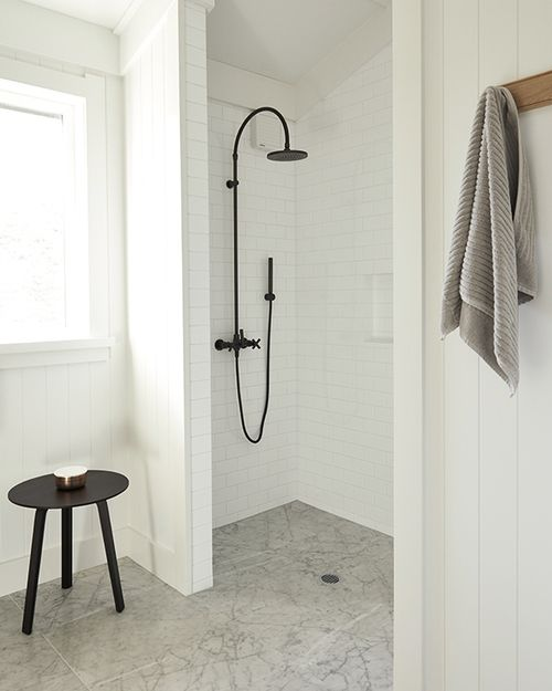 Open Style Showers, Stone Shower And Rustic Shower