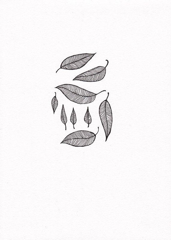 Minimalist leaves