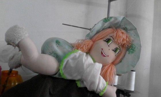 Muñecas de trapo Charito