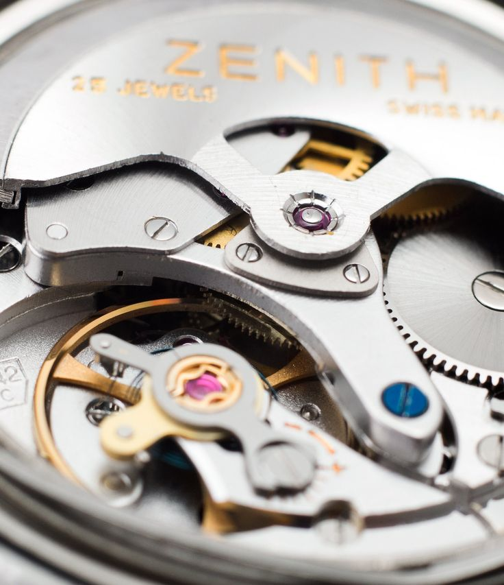 Cal. 2542 Zenith S.58 automatic watch at A Collected Man London vintage watch specialist UK