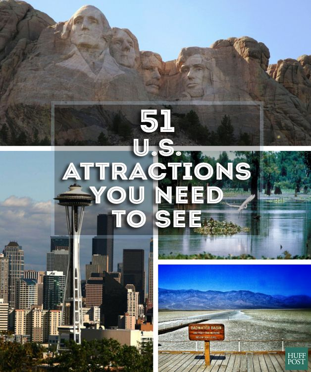 Take a trip across America and check out the 51 attractions you need to see!