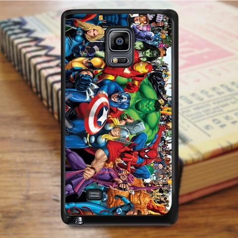 Marvel All Marvel Superheroes Samsung Galaxy Note 5 Case