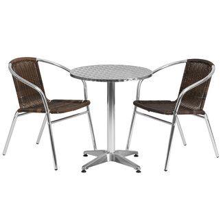 Found it at Wayfair Supply - Flash Furniture Round 3 Piece Dining Set