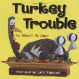 #Thanksgiving Books Turkey Trouble - Turkey is in trouble. Bad trouble. The kind of trouble where it's almost Thanksgiving . . . and you're the main  course. But Turkey has an idea--what if he doesn't look like a turkey? What if he looks like another animal instead?  After many hilarious attempts, Turkey comes up with the perfect disguise to make this Thanksgiving the best ever!