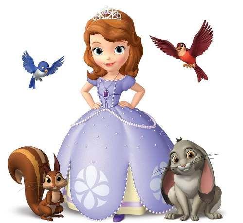 Kit Imprimible Princesa Sofia Invitaciones Etiquetas Cumples - $ 34,99