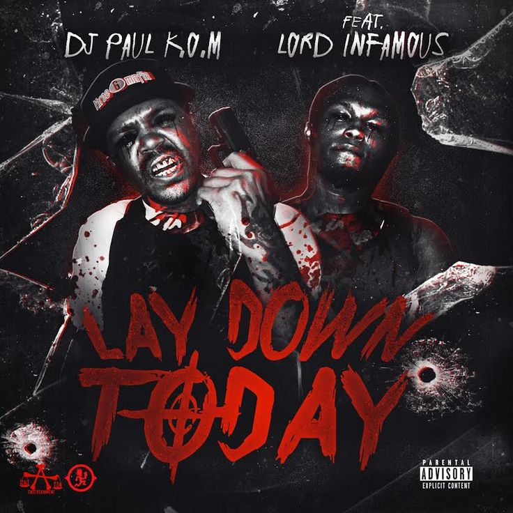MP3: DJ Paul (@DJPaulKOM) feat. Lord Infamous - Lay Down Today