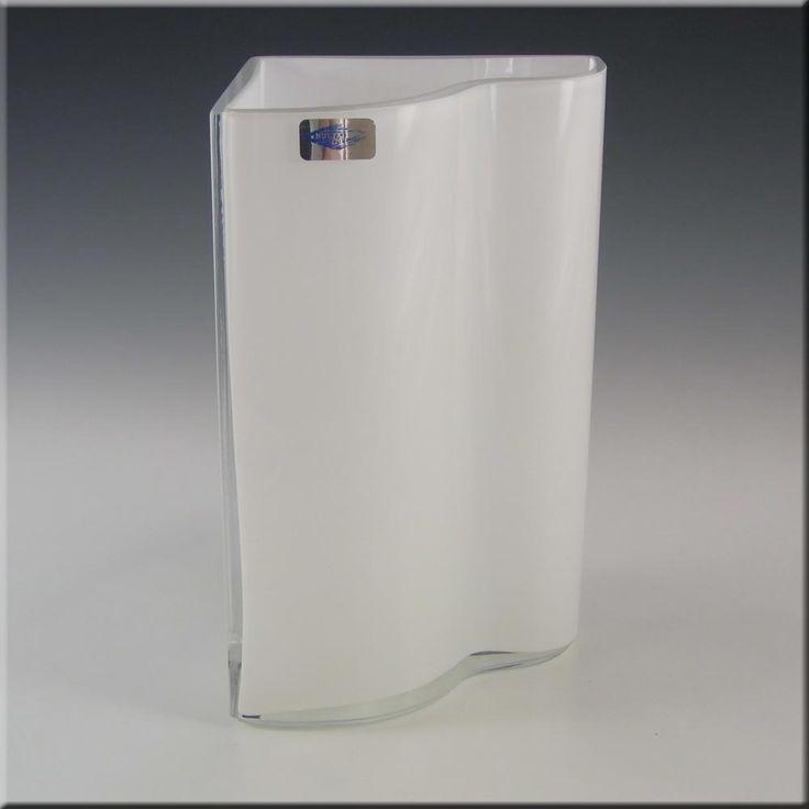 Nuutajarvi Notsjo 'Sonetti' Glass Vase by Kerttu Nurminen - £30.00