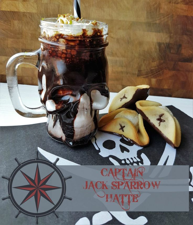 Jack Sparrows edible tricorns and a boozy pirate milkshake