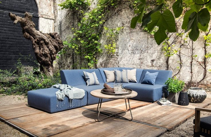 No reason for feeling blue - Modular garden lounge set - Rain resistant - lightweight - WoonTheater