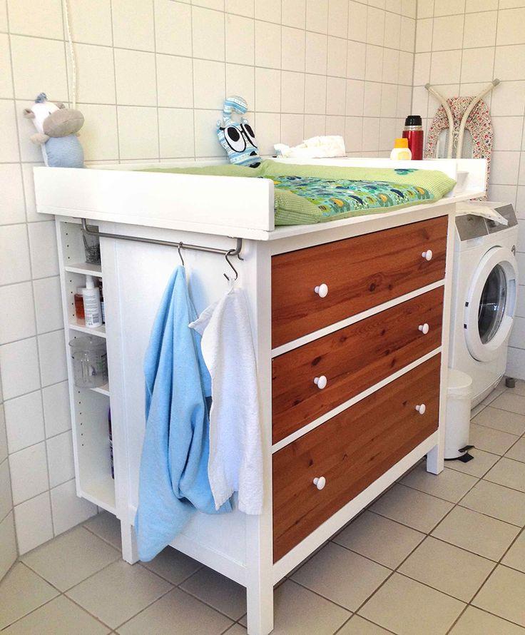 Wickeltisch, HEMNES diaper changing table - IKEA Hackers - IKEA Hackers