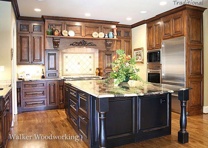 black island kitchen island pinterest islands and black. Black Bedroom Furniture Sets. Home Design Ideas