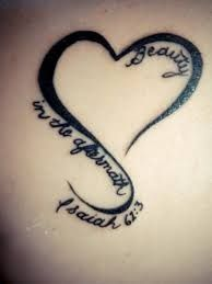 Maybe a different verse but love the idea – Tattoos