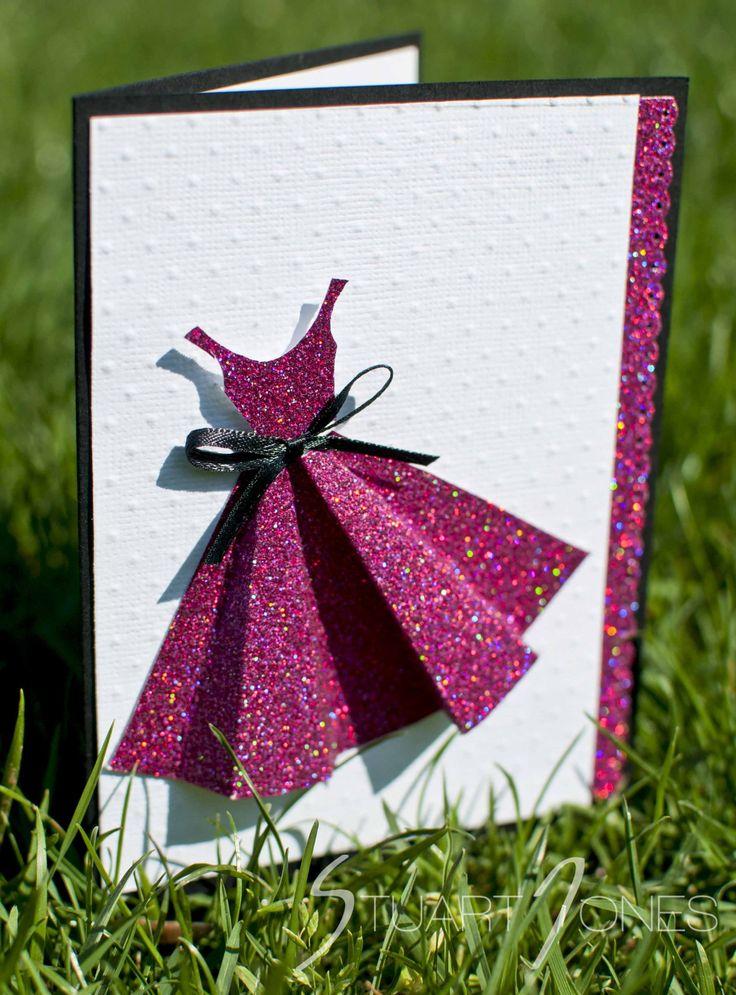 Открытки, открытка как платье