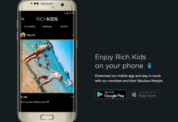Rich Kids, Media Sosial Khusus untuk Anak-anak Tajir