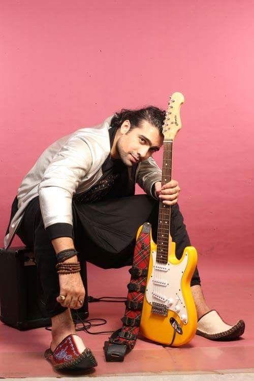 Bollywood singer #Rockstar