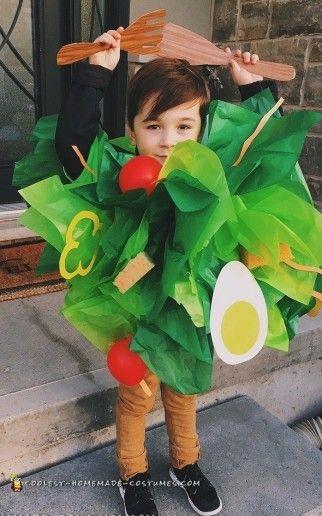 Original. Disfraz de ensalada. best salad costume