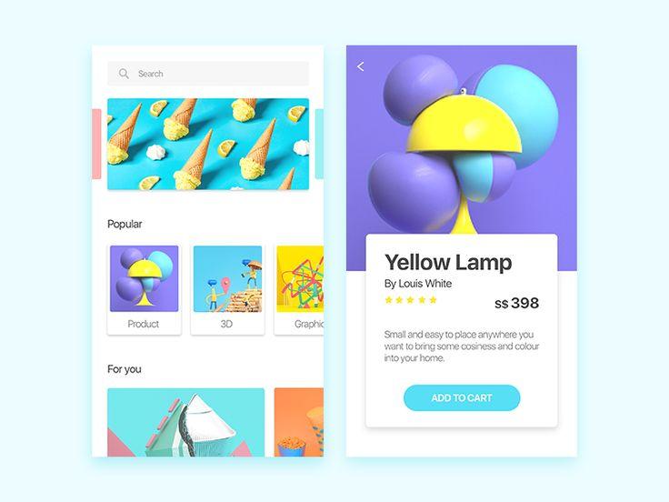 Interface by Ellen Chen #Design Popular #Dribbble #shots