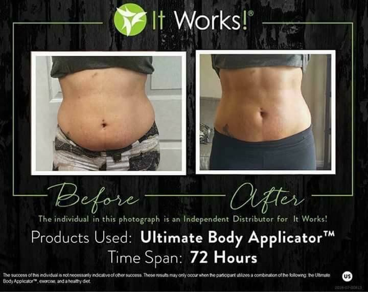 It Works Wrap, Crazy Wrap Thing, Healthy Living, Healthy Lifestyle, Before and After