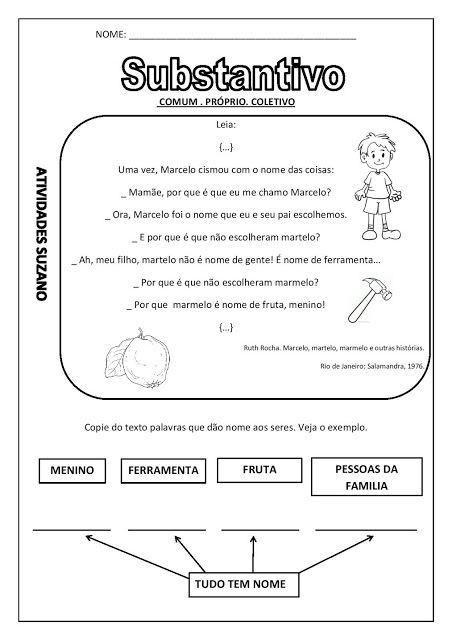 Atividades Adriana : Língua Portuguesa