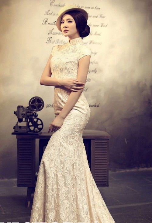 81 best 1950 39 s hong kong fashion images on pinterest for Traditional chinese wedding dress hong kong