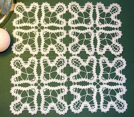 Advanced Embroidery Designs - Bruges Lace