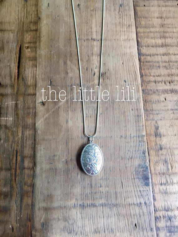 LocketSilver LocketSterling Silver LocketSterling by thelittlelili
