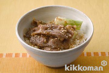 焼き肉丼 | ホームクッキング【キッコーマン】