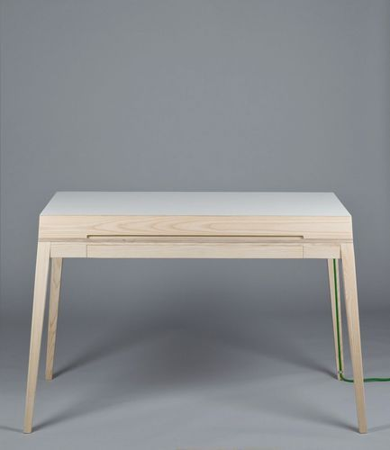 Scandinavian design desk / in wood KEEP CLOSE by Jacob Almberg Plus Function AB