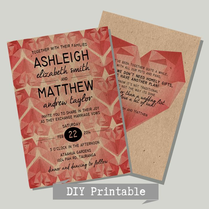 New Invitations on the website  Let us customise your own Wedding Invitation | DIY Printable | All affordable | For Weddings & paper design on a budget | hello@myweddinginvite.co.nz | #weddinginvitation www.myweddinginvite.co.nz