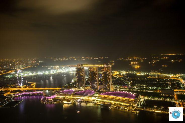 blog voyage Love Live Travel Singapour Marina Bay Rooftop Night Marina Bay Sand