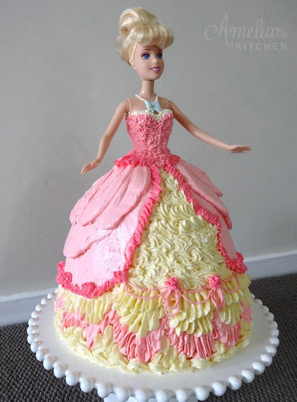 Doll Cake Strawberry Vanilla Buttercream Amelia S