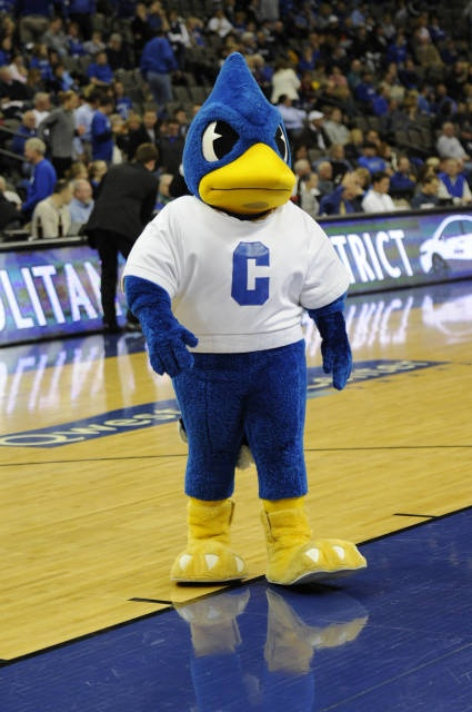 Billy Bluejay, Creighton