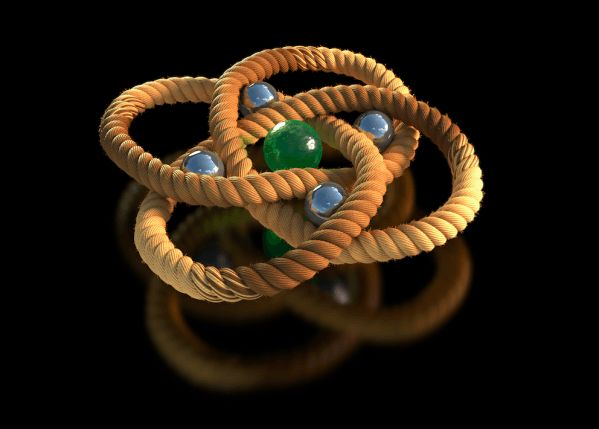 Investigadores logran atar el nudo molecular más apretado hasta la fecha, un resultado que puede ayudar en el diseño de nuevos materiales.