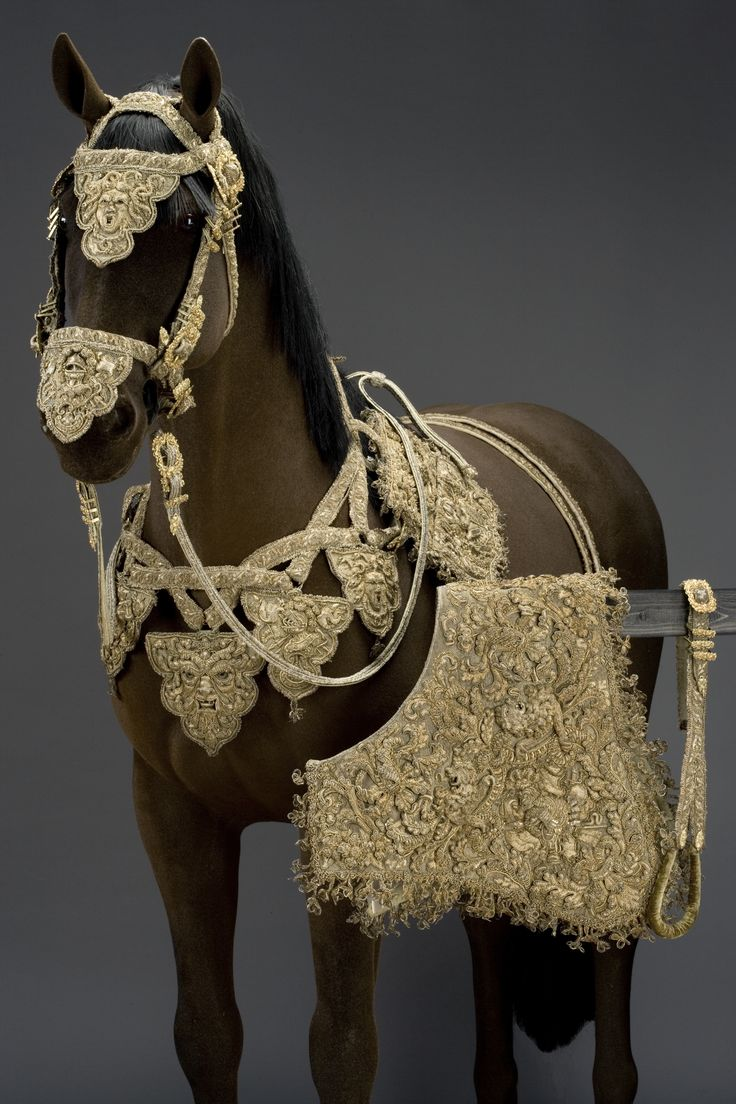 Bridles and loose belt, 1670-. Livrustkammaren, CC BY-SA