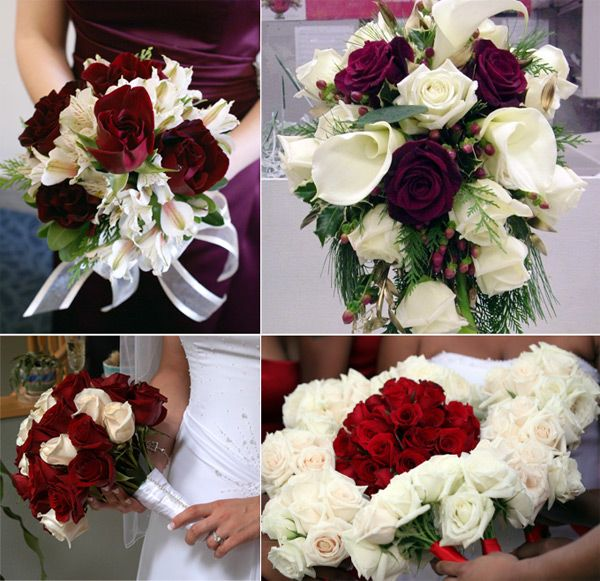 The one with the Calla Lillies -- Subtract the grass and purple roses -- Add red roses, babies breath, and casablanca lillies