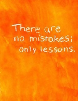 »✿❤There are no mistakes, only lessons.❤✿«