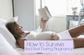 How to Survive Bed Rest During Pregnancy